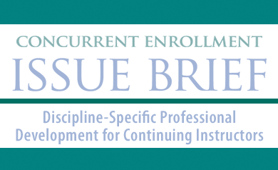 NACEP Issue Brief Released