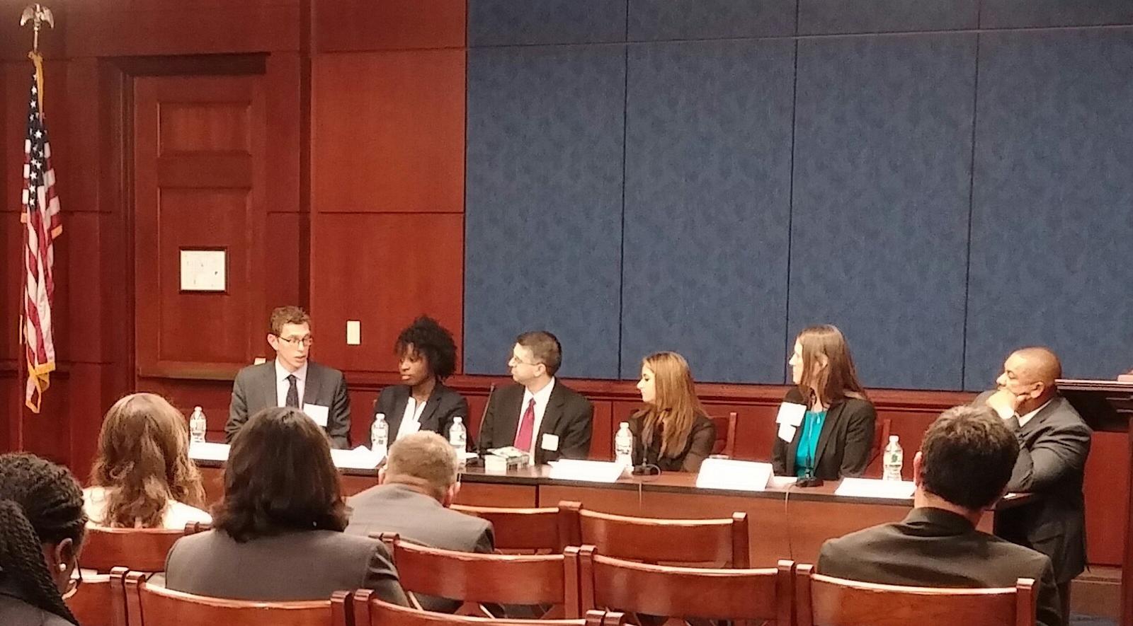Adam Lowe at Congressional Briefing