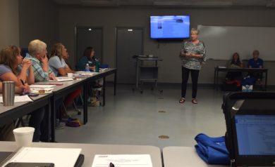 Sandra Provence teaching at ASUN