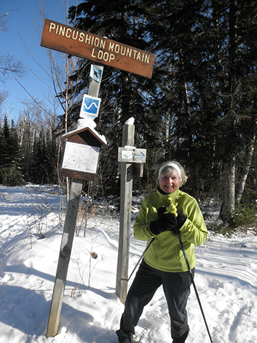 Lynn cross country skiing